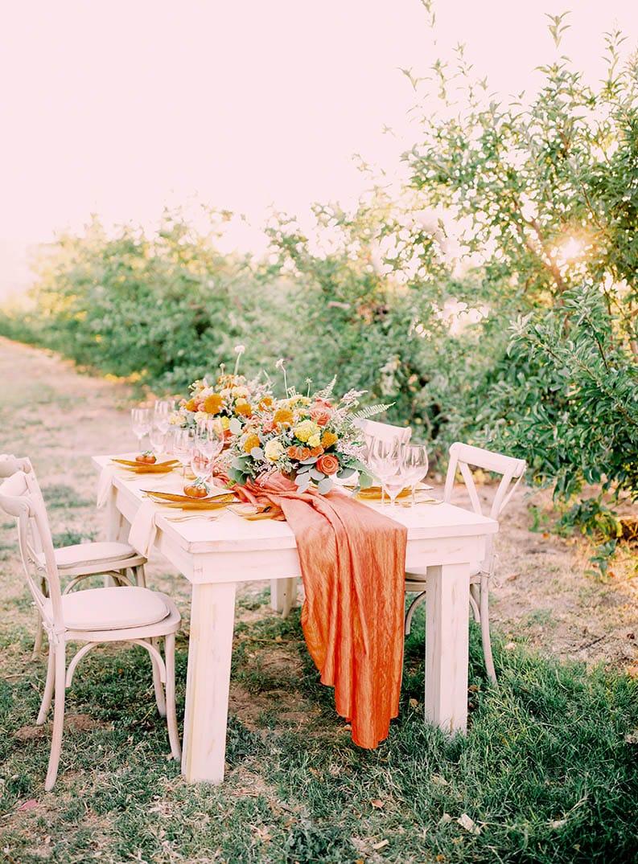 Country Theme Wedding