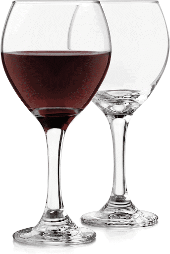 Classic Red Wine Glasses by Libbey
