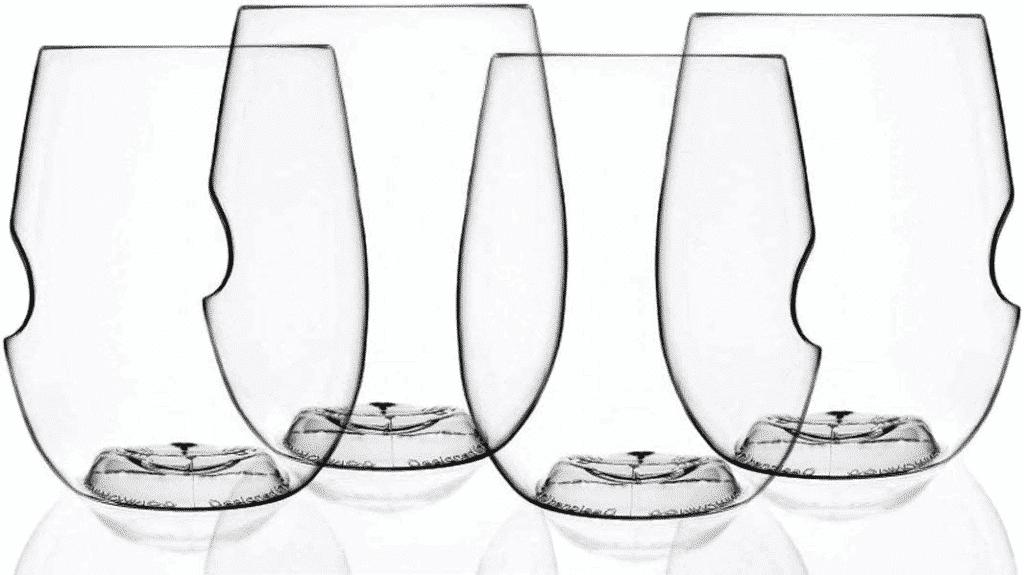 Shatterproof Flexible Wine Glasses by Govino
