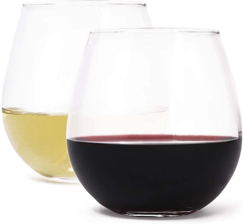 Stemless Wine Glasses by Zeppoli