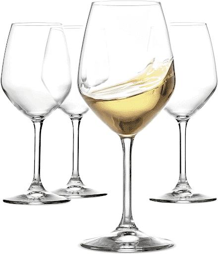White Wine Glasses by Paksh