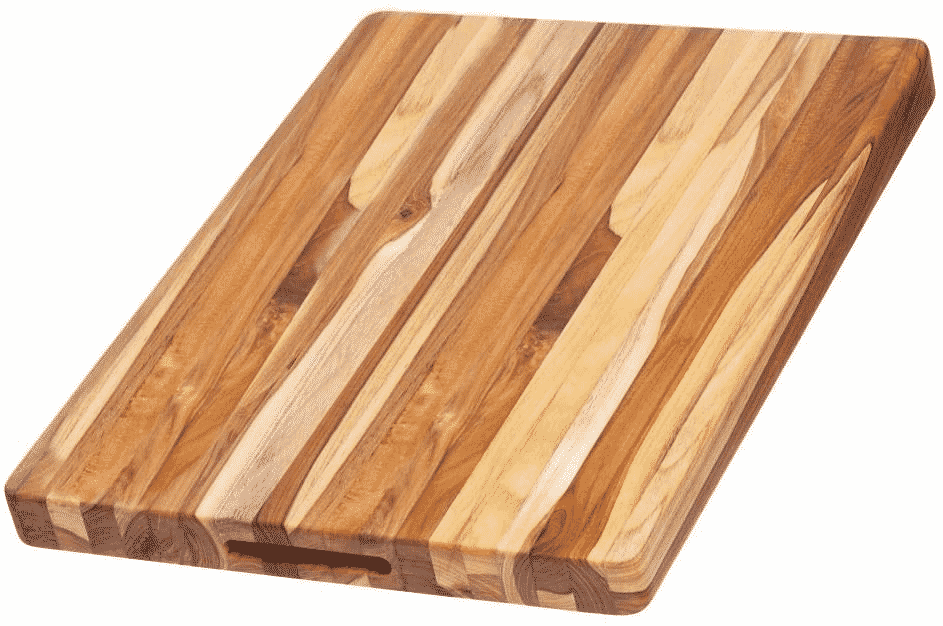 Teakhaus Carving Board With Hand Grip by Proteak Edge