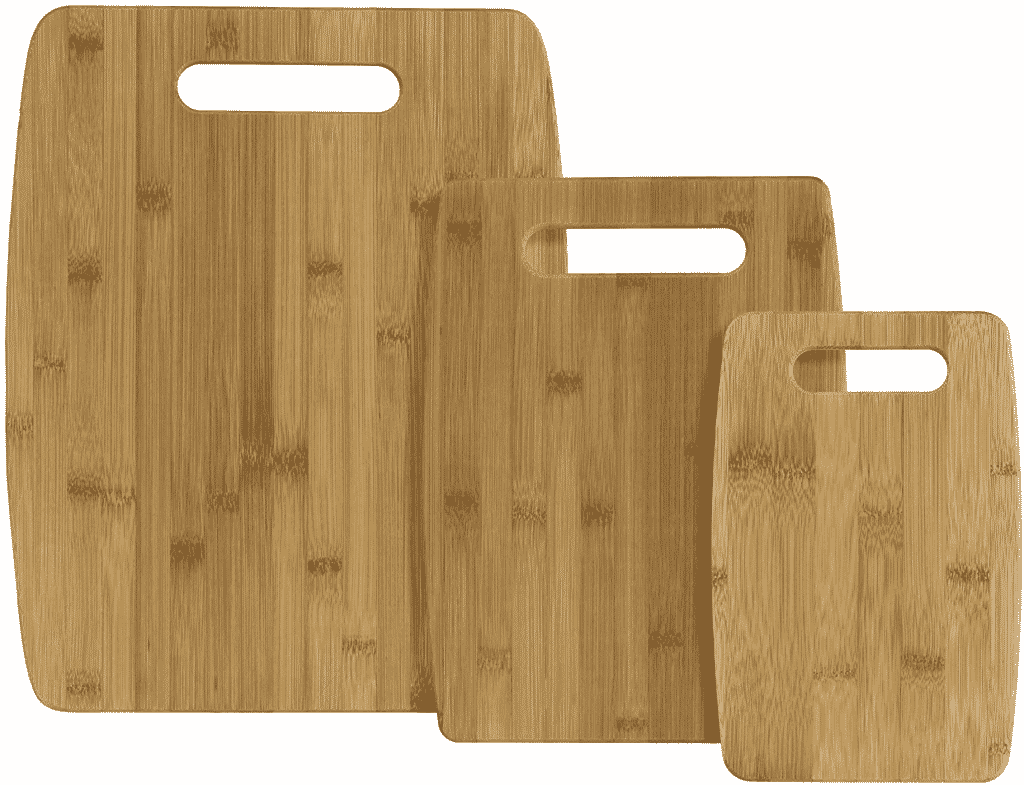 Bamboo Cutting Board 3-Piece Set by Totally Bamboo