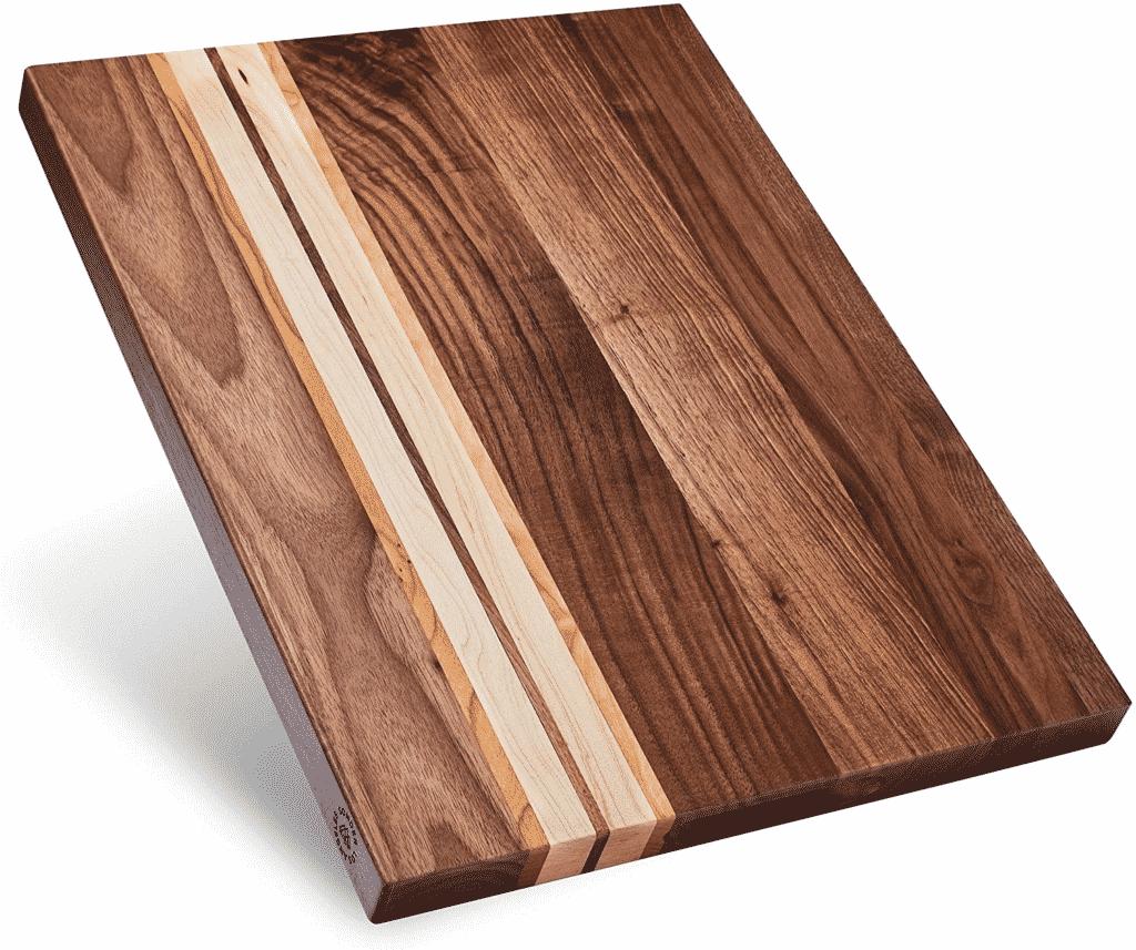 Multipurpose Large Walnut Wood Cutting Board by Sonder Los Angeles