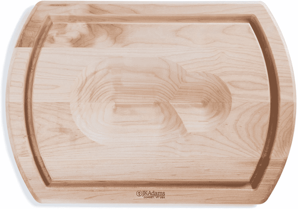Large Reversible Maple Cutting Board from J.K. Adams