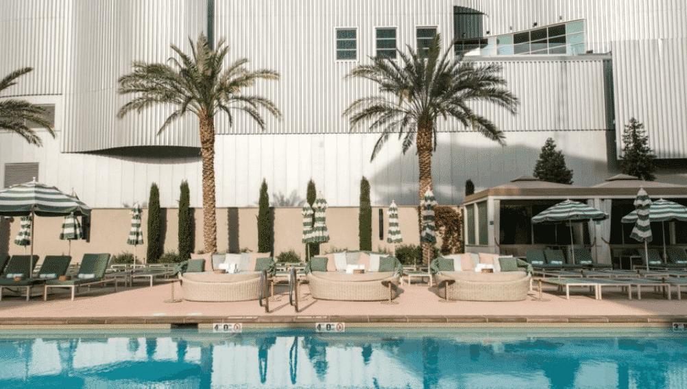 The Park MGM Las Vegas hotel pool